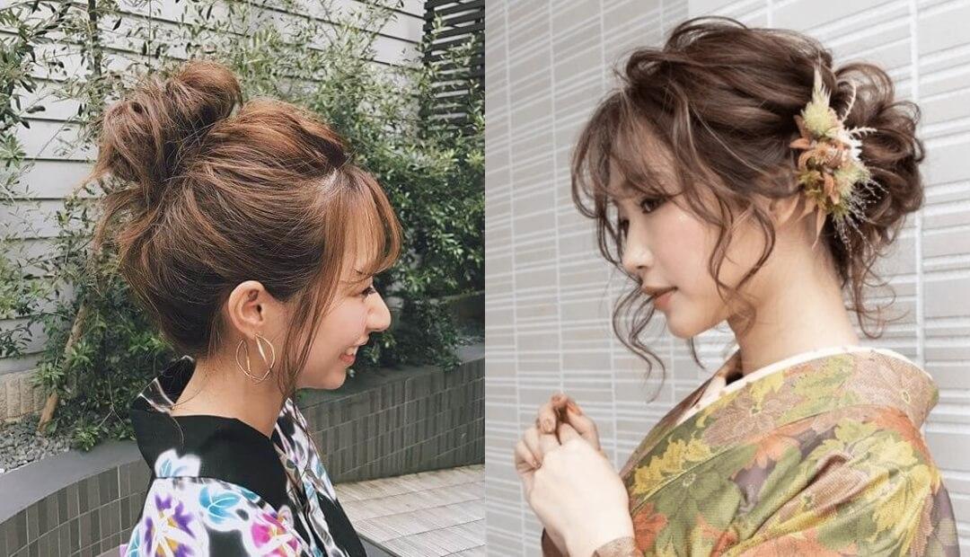 浴衣用の髪型(ロング編)!編み込みやアップの簡単ヘアアレンジのやり方を紹介!