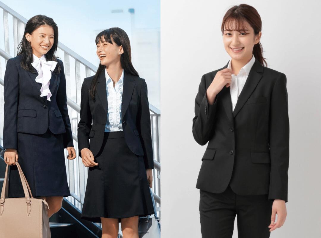 入学式のスーツ例